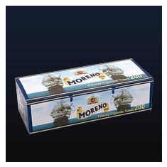 MORENO 200 X 5 cutii+TABACHERA METALICA COMBI - Foite tigari