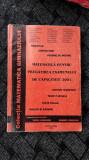 MATEMATICA PENTRU PREGATIREA EXAMENULUI  DE CAPACITATE LASLEANU , RADUCAN