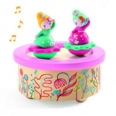 Cutie muzicala magnetica Flori Djeco