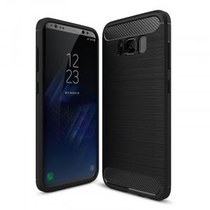 Carcasa husa de protectie Carbon Fiber din silicon TPU pt Samsung Galaxy S8