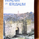 INTALNIRI LA IERUSALIM - Costel Safirman, Leon Volovici (Editura FCR, 2001)