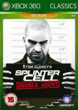 Tom Clancy's Splinter Cell - Double agent CLASSICS -  XBOX 360 [Second hand], Shooting, 18+, Single player