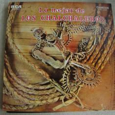 Lo Mejor De LOS CHALCHALEROS - Vinil LP Argentina