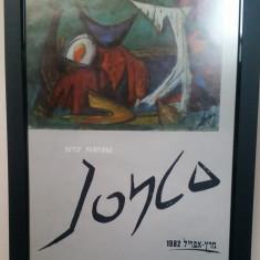 Afis Expozitie Marcel Iancu - Tel Aviv 1982