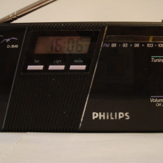 Radio portabil analog PHILIPS D-1848 - Aparat radio