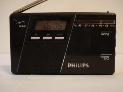Radio portabil analog PHILIPS D-1848 foto