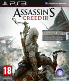 Assassin's Creed III -  PS 3 [Second hand], Actiune, 18+, Single player