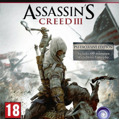 Assassin's Creed III - PS 3 [Second hand] - Jocuri PS3, Actiune, 18+, Single player