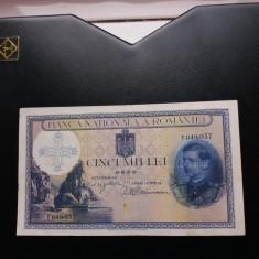 Bancnote romanesti 5000lei 1940 intrarea in alba iulia - Bancnota romaneasca