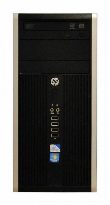 Calculator HP Compaq 6200 Tower, Intel Core i3 Gen 2 2100 3.1 GHz, 4 GB DDR3, 500 GB HDD SATA foto mare