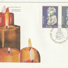 Craciun 1982, FDC, Irlanda.
