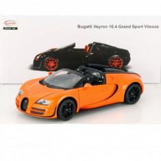 Macheta Bugatti Veyron 16.4 Grand Sport Vitesse - RASTAR scara 1:18 - Macheta auto