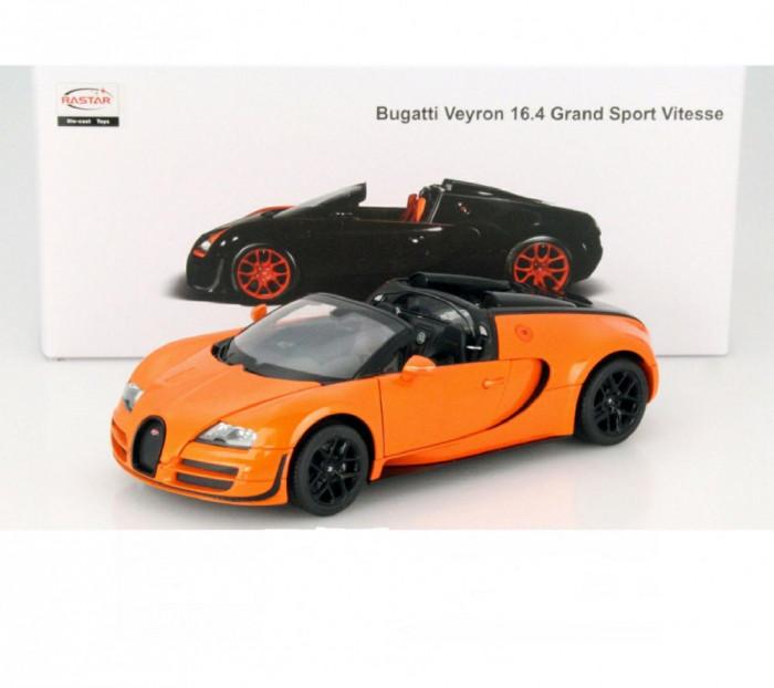 Macheta Bugatti Veyron 16.4 Grand Sport Vitesse - RASTAR  scara 1:18