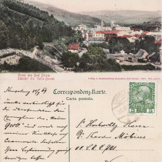 Vatra Dornei (Bucovina, Suceava)-Vedere generala - Carte Postala Bucovina pana la 1904, Circulata, Printata