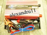 Invertor convertor auto 24V 500W clesti baterie