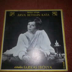Kocsis Istvan/Farkas Ibolya-Arva Bethlen Kata-Electrecord EXE 01666 vinil - Muzica Folk