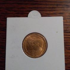 ARDEALUL NOSTRU 1601-1918-1944 , moneda-medalie JUBILIARA , aur 900