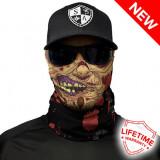 Bandana/Face Shield/Cagula/Esarfa - Flesh Zombie, made in USA, Din imagine
