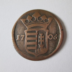 Raritate! Ungaria X Poltura/Pro Libertate 1706 Rakoczi Ferenc II - Jetoane numismatica