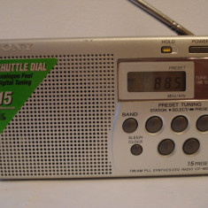 Radio portabil digital SONY ICF-M 260 - Aparat radio