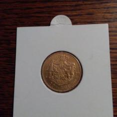 20 de Lei 1883, din aur 900. - Moneda Romania