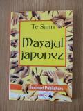 MASAJUL JAPONEZ- TE SANRI- contine numeroase figuri+planse