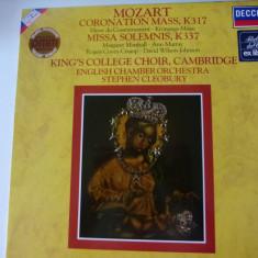 Mozart - Coronation mass - vinyl - Muzica Clasica decca classics, VINIL