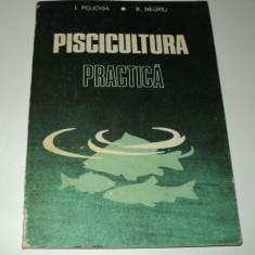 Piscicultura practica, Pojoga, Negriu, 1988 - Carti Zootehnie