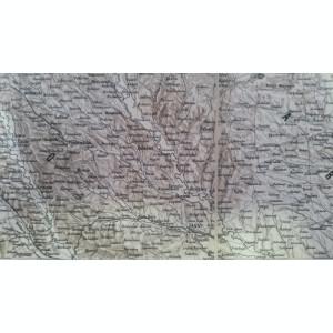 Harta veche Bucovina 1869