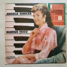 Angela Similea & Marius Teicu – Flacara Nestinsei Iubiri (Vinyl/LP) - Muzica Pop electrecord, VINIL