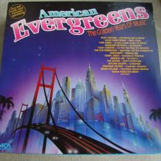 AMERICAN EVERGREENS - The Golden Years Of Music - Vinil LP Germany - Muzica Blues