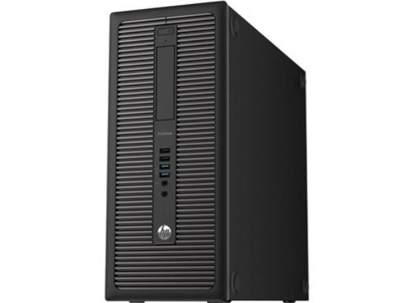 Calculator HP ProDesk 600 G1 Tower, Intel Core i3 Gen 4 4130 3.4 GHz, 8 GB DDR3, 500 GB HDD SATA, DVDRW, Windows 10 Pro foto mare