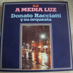 A MEDIA LUZ - Donato Racciatti Y Su Orquesta - Vinil LP Brasil