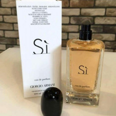 Parfum Tester Giorgio Armani Si 100 ml eau de parfum - Parfum femeie Armani, Apa de parfum