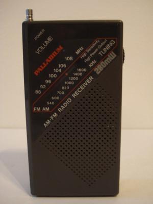 Radio portabil analog PALLADIUM foto