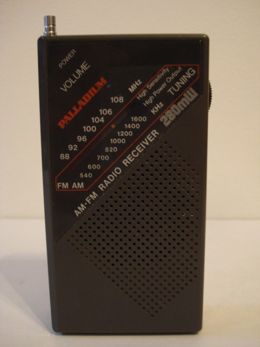 Radio portabil analog PALLADIUM