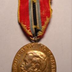 Medalia Jubiliara Carol I 1866 - 1906 - Ordin