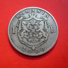 1 leu 1900 - Moneda Romania