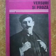Ion Minulescu – Versuri si proza