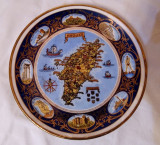 FARFURIE GRECIA INSULA RHODES PERETE PORTELAN FIN FOITA AUR COLECTIE CADOU
