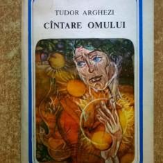 Tudor Arghezi - Cantare omului - Carte poezie