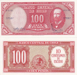 CHILE 100 pesos ND UNC!!!