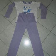 Pijama de fete, fetite, marimea 7-10 ani, 122-134 cm. COMANDA MINIMA 30 LEI!, Culoare: Mov