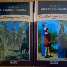 Alexandre Dumas – Cei patruzeci si cinci, 2 volume {Col. Adevaru} - Carte de aventura