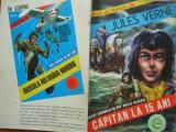 Jules Verne , Capitan la 15 ani , benzi desenate de Nicu Russu
