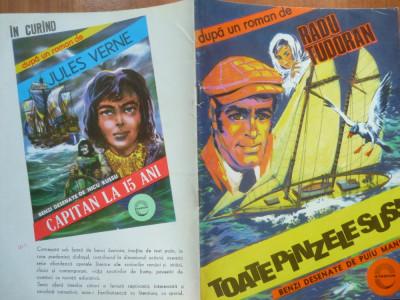 Radu Tudoran , Toate Panzele Sus! ; Benzi desenate de Puiu Manu foto