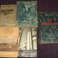 Geo Bogza set 5 volume reportaje de calatorie, anii 50-60-70