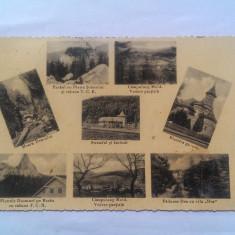 BUCOVINA-CAMPULUNG MOLDOVENESC-CARTE POSTALA ANII 30 - Carte postala tematica, Circulata, Printata