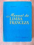 MANUAL DE LIMBA FRANCEZA- MATEI CRISTESCU, ION CLIMER- cartonata
