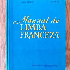 MANUAL DE LIMBA FRANCEZA- MATEI CRISTESCU, ION CLIMER- cartonata - Curs Limba Franceza
